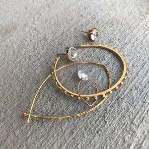Single Ear Earrings Pack Hoops Stella Dot